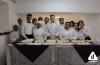 Estudiantes del curso de gastronomía de la Escuela Técnica