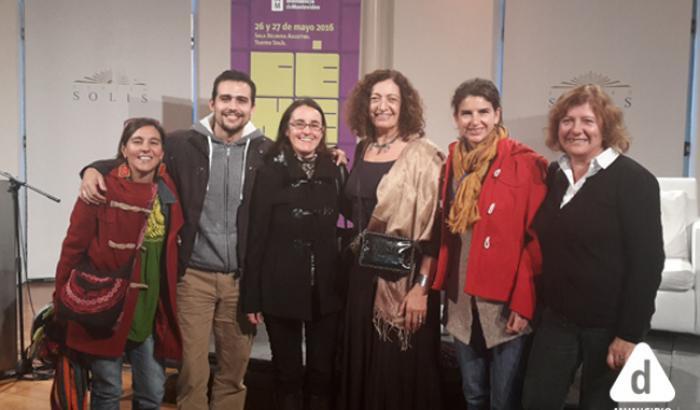 Integrantes del Equipo de Equidad y Género del Municipio con Arq. Ana Falú