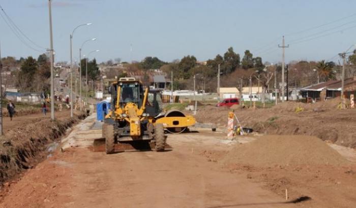 Obras en San Martín