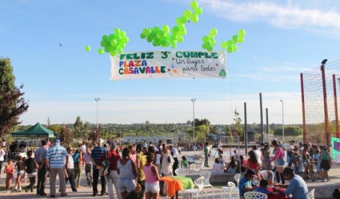 """3 años de la Plaza Casavalle """"un lugar para todos"""""""