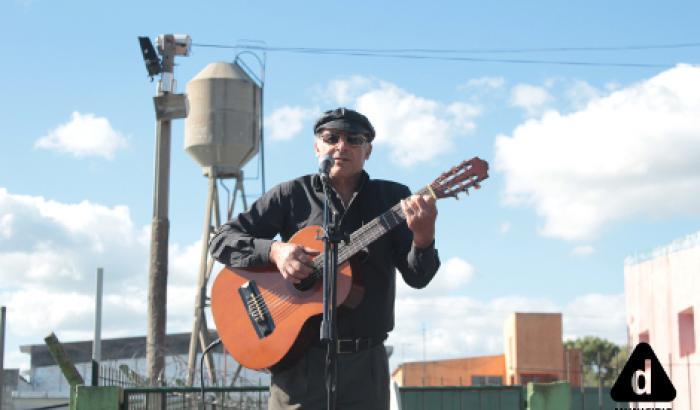 Daniel Freitas, músico de la zona