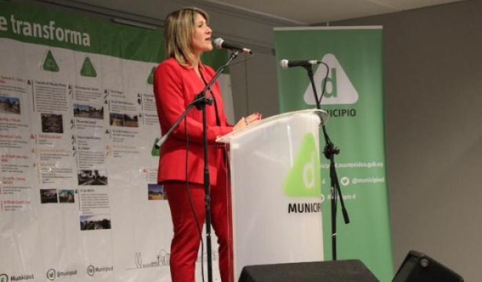 Alcaldesa del Municipio d Sandra Nedov