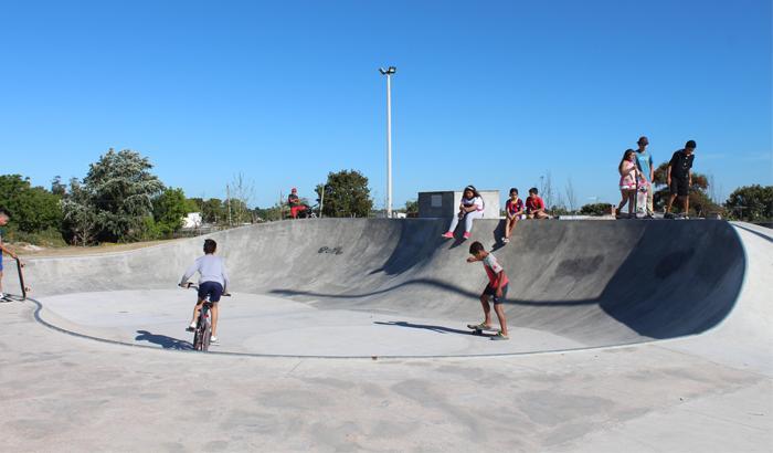 Skate park en Casavalle