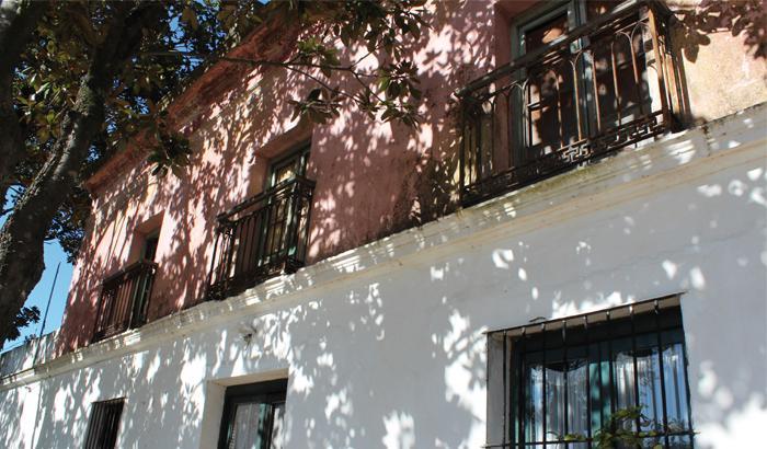 Una de las construcciones que permanecen de la antigua Casa de la familia Berro