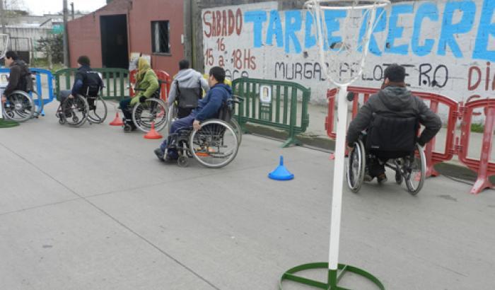 promotores de inclusión y sensibilización en discapacidad en coordinación con l