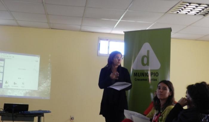 Graciela Gómez, representante de Mujeres Organizadas