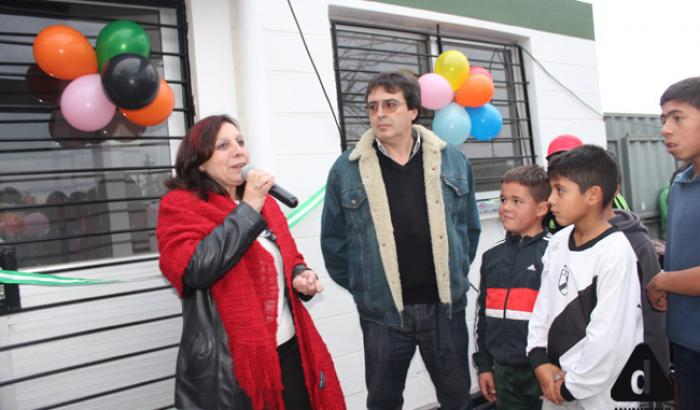 Intendenta Ana Olivera