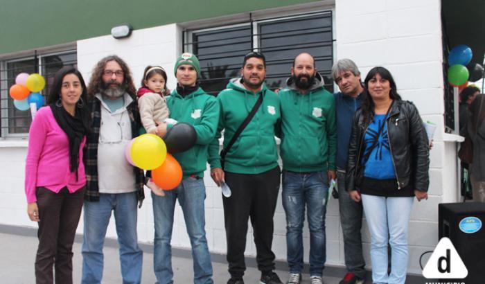 Integrantes de la Comisión Directiva del Club Fray Bentos