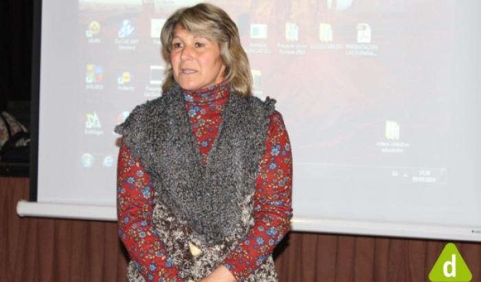 La Alcaldesa Sandra Nedov