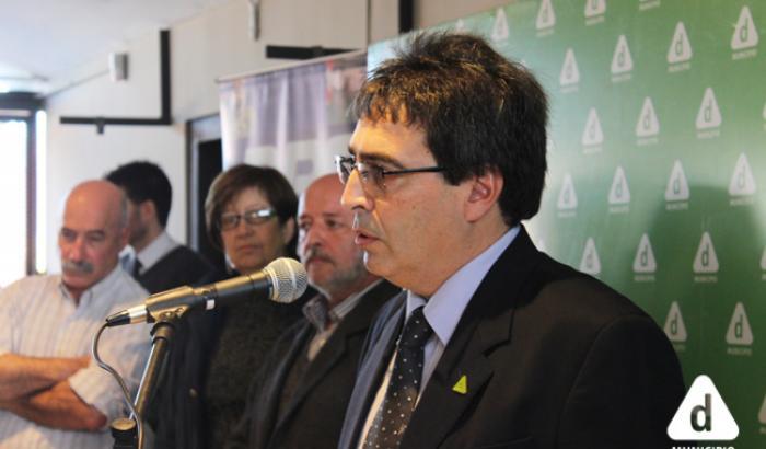 Alcalde del Municipio d Álvaro Pedraja
