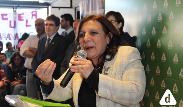 Intendenta de Montevideo Profa. Ana Olivera