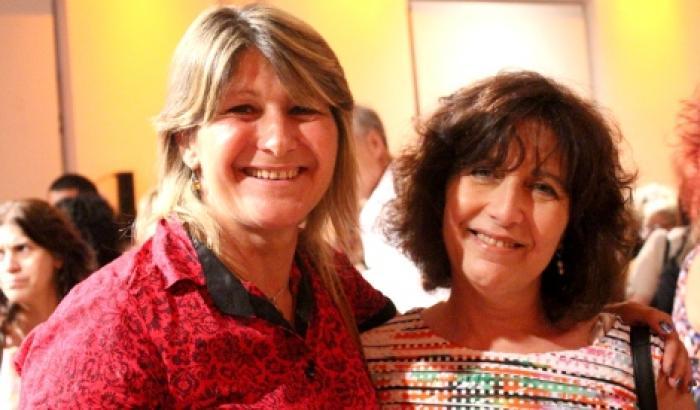 La Alcaldesa junto a Mariella Mazzoti de INMujeres