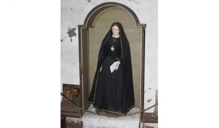 imagen de la virgen Dolorosa