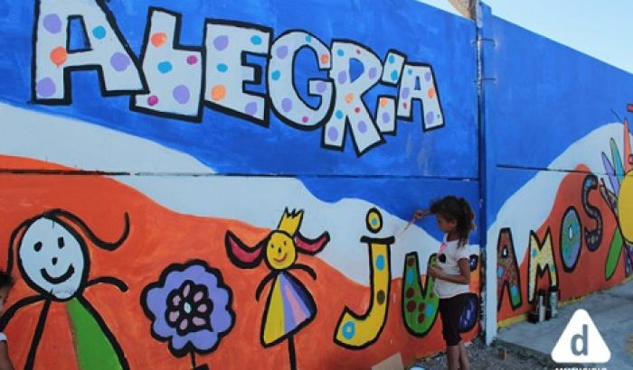 Intervención artística en Trapani y Nogueira.