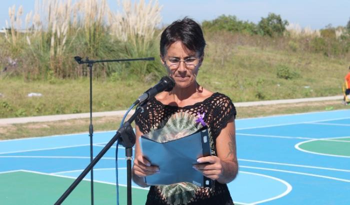 Stella Gotta, presidenta de la Comisión 16 de marzo