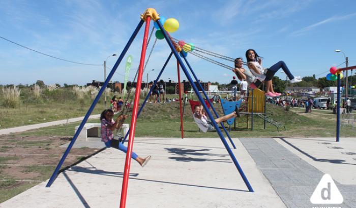 espacio de juegos para niñas y niños