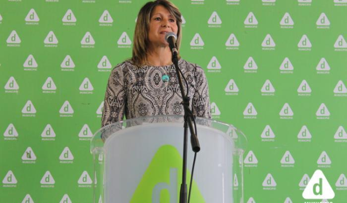La Alcaldesa presentó la rendición 2016