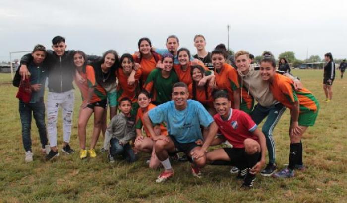 campeonato de fútbol de Mové tu barrio