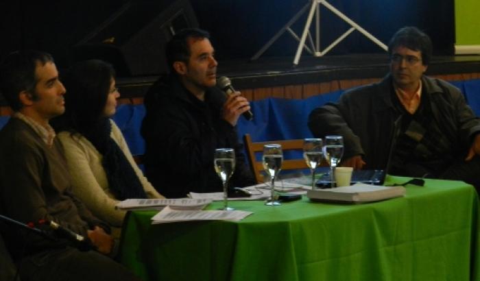 Álcalde interino Álvaro Pedraja, Arq. Álvaro Trillo, Fernando Errandonea y Ferna