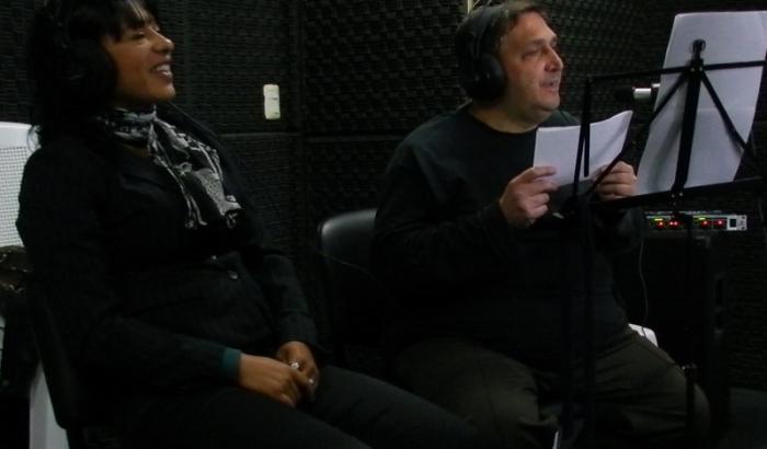 Miguel Cossio y Andrea Policarpo de Cumbre FM