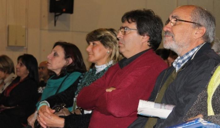 La Intendenta de Montevideo Ana Olivera, el Alcalde del Municipio d Álvaro