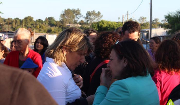 La Alcaldesa Sandra Nedov y la Intendenta de Montevideo Ana Olivera
